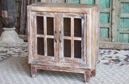 Szafka z drewna z recyklingu - meble indyjskie