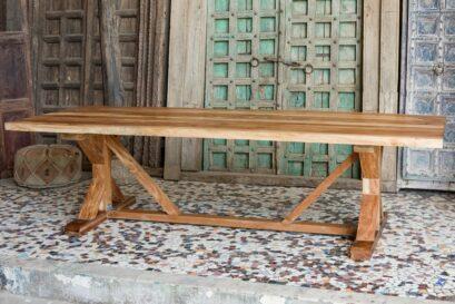 Stół jadalny akacja azjatycka - meble indyjskie Orange Tree