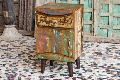 "Loftowa szafka ""recycled"" - meble indyjskie Orange Tree"