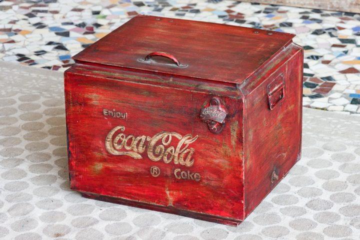 "Termos ""vintage"" Coca-Cola - meble indyjskie Orange Tree"
