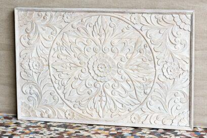 Rzeźbiony panel - Orange Tree meble indyjskie