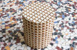 Stolik z piramidkami - Orange Tree meble indyjskie