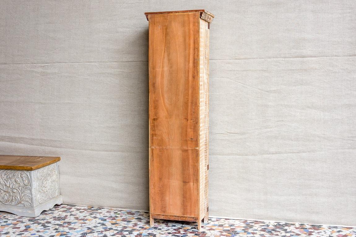 Rustykalna witryna słupek - Orange Tree meble indyjskie