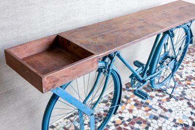 Konsola na rowerze - Orange Tree meble indyjskie