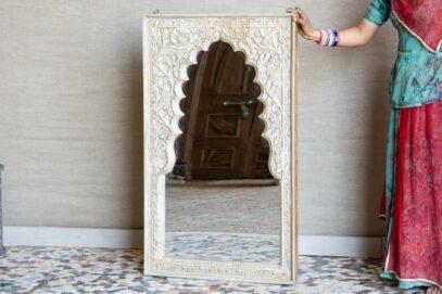 Rama z lustrem w perskim stylu - Orange Tree meble indyjskie