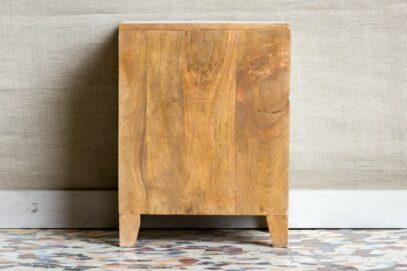 Rzeźbiona szafka nocna - Orange Tree meble indyjskie