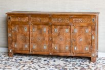 Komoda z lusterkami Jaisalmer - Orange Tree meble indyjskie