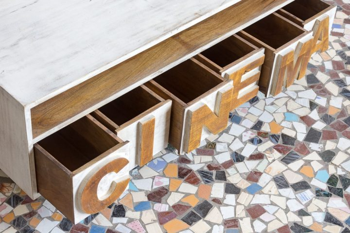 Szafka RTV CINEMA - Orange Tree meble indyjskie