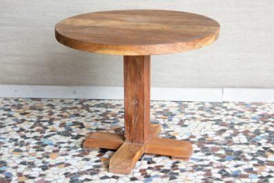 Okrągły stół tekowy - Orange Tree meble indyjskie