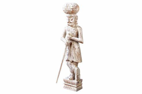 Rzeźba żołnierza indyjskiego - Orange Tree meble indyjskie