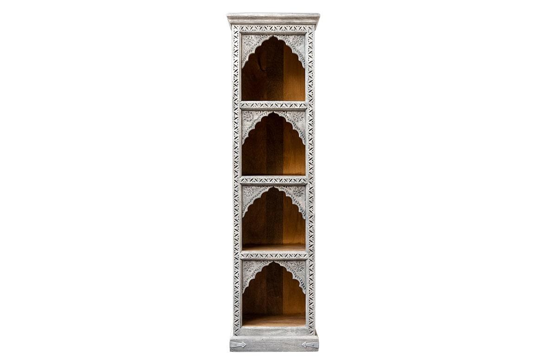 Regał słupek z łukami - Orange Tree meble indyjskie