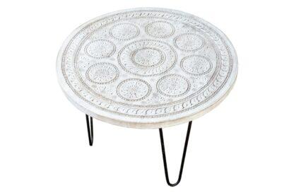 Okrągły stolik 60cm - Orange Tree meble indyjskie
