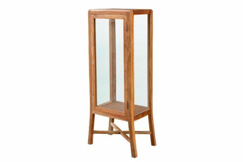 WItryna słupek ze szklanymi półkami - Orange Tree meble indyjskie
