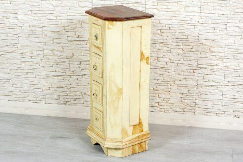 Prowansalski słupek z szufladkami - Orange Tree meble indyjskie