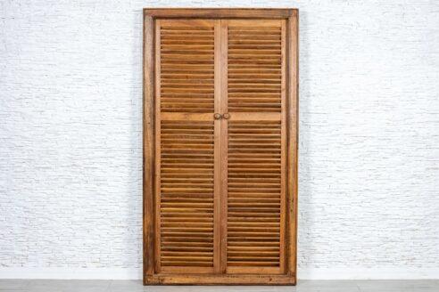 Tekowe drzwi z ościeżnicą - Orange Tree meble indyjskie