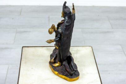 Rzeźba bogini Kali mosiądz - Orange Tree meble indyjskie