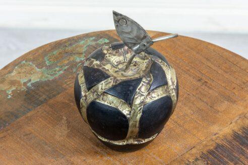 Ozdobne jabłko drewniane - Orange Tree meble indyjskie