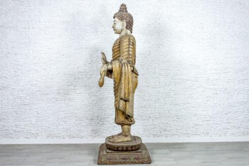 Rzeźba Buddy - Orange Tree meble indyjskie