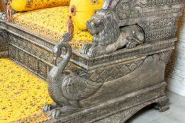 Srebrny tron - Orange Tree meble indyjskie