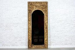 Pionowa rzeźbiona rama z lustrem - Orange Tree meble indyjskie