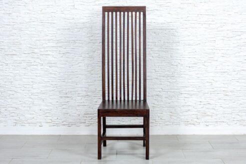 Krzesło z wysokim oparciem - Orange Tree meble indyjskie