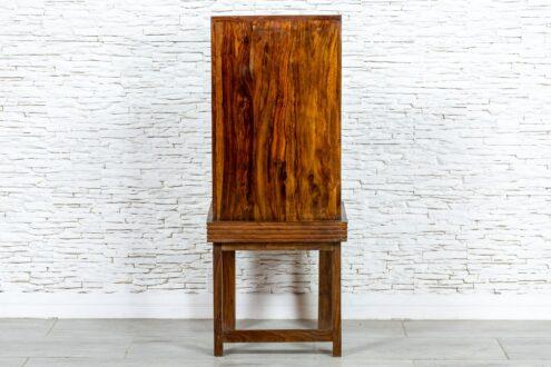 Sezamowe brązowe krzesło - Orange Tree meble indyjskie