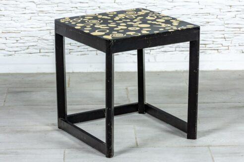 Czarny stolik - Orange Tree meble indyjskie
