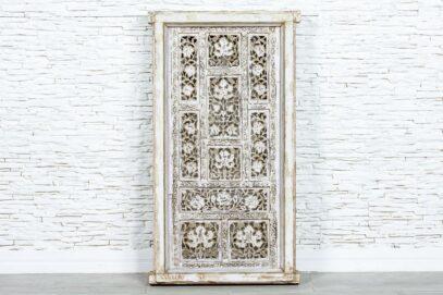 Bielony panel ażurowy - Orange Tree meble indyjskie