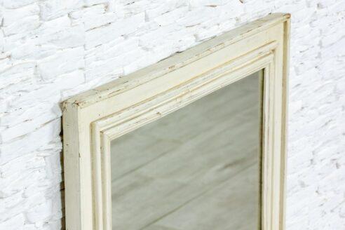 Biała rama z lustrem - Orange Tree meble indyjskie