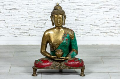 Siedzący Budda Jaipur - Orange Tree meble indyjskie