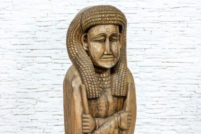 Rzeźba Egipcjanki - Orange Tree meble indyjskie