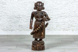 Drewniana rzeźba Hinduski - Orange Tree meble indyjskie