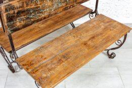 Dwustronna ławka - Orange Tree meble indyjskie