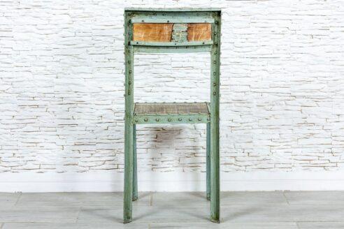 Industrilane krzesło zielone - Orange Tree meble indyjskie