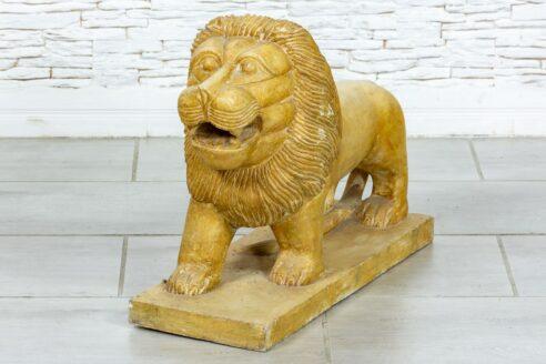 Kamienny lew rzeźba - Orange Tree meble indyjskie