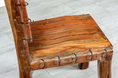 Ciężkie krzesło zamkowe - Orange Tree meble indyjskie
