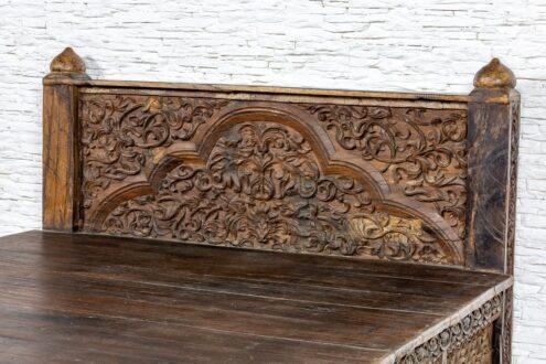 Stare łóżko hinduskie - Orange Tree meble indyjskie