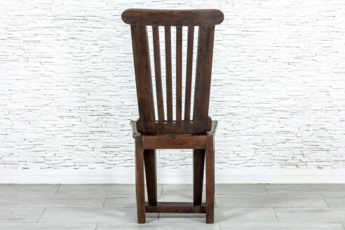 Rustykalne krzesło slipper wood - Orange Tree meble indyjskie