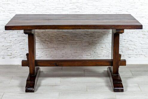 Rustykalny stół jadalny slipper wood - Orange Tree meble indyjskie