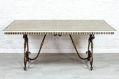 Kuty stół z kością - Orange Tree meble indyjskie