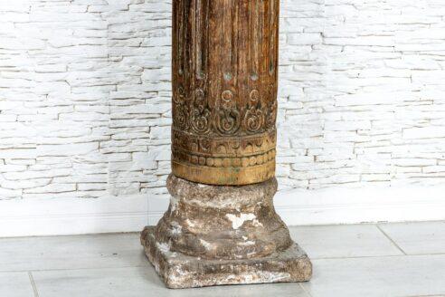 Stara kolumna koryncka - Orange Tree meble indyjskie