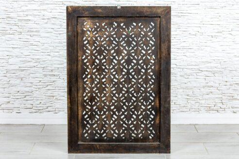 Ażurowy panel drewniany - Orange Tree meble indyjskie
