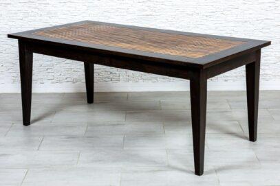 Sezamowy stół z kratką - Orange Tree meble indyjskie