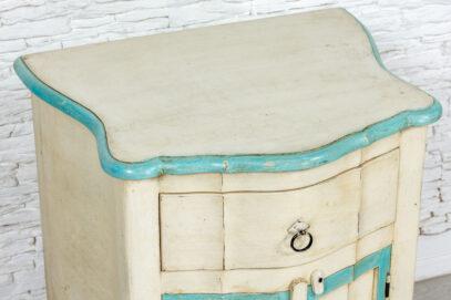 Kremowa szafka z szufladką - Orange Tree meble indyjskie