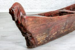 Stara łódź tekowa - Orange Tree meble indyjskie