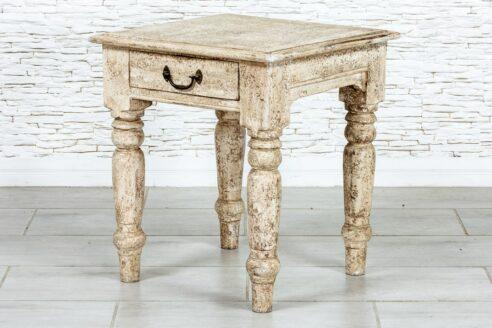 Bielony stolik antyczny - Orange Tree meble indyjskie