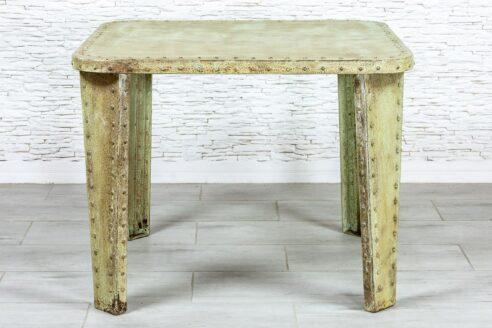 Żelazny stół industrialny - Orange Tree meble indyjskie