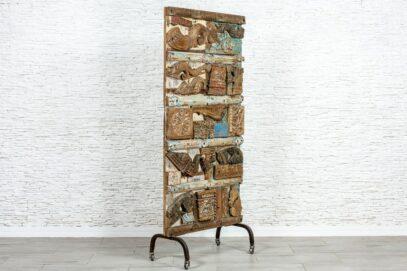 Abstrakcyjny panel trójwymiarowy - Orange Tree meble indyjskie