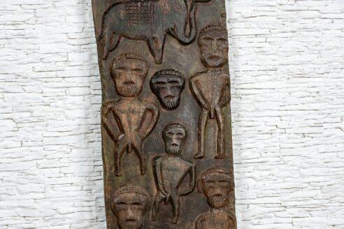 Rzeźbiony panel etniczny - Orange Tree meble indyjskie