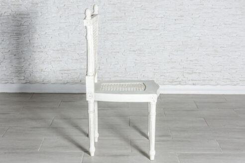 Białe francuskie krzesło - Orange Tree meble indyjskie
